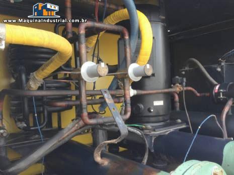 Secador de ar comprimido manutenção