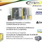 Assistência técnica compressor parafuso