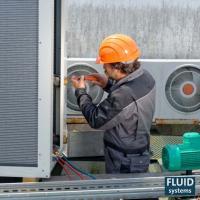 Manutenção em compressores de refrigeração industrial