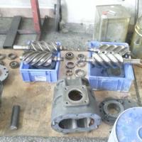 Unidade compressora parafuso
